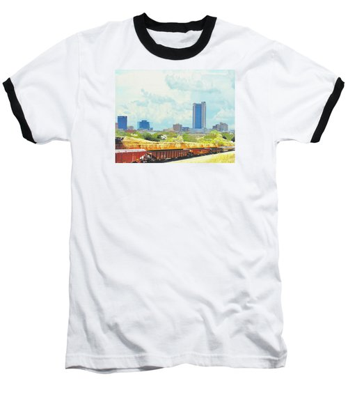 Amarillo Texas In The Spring Baseball T-Shirt by Janette Boyd
