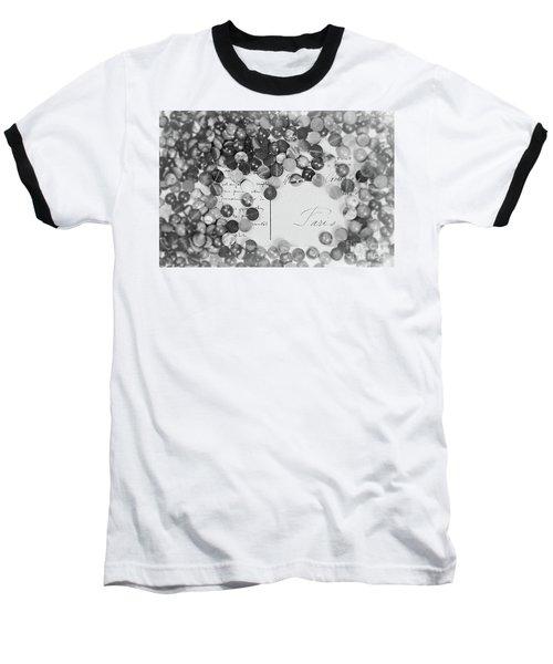 Amber #0502 Bw Baseball T-Shirt
