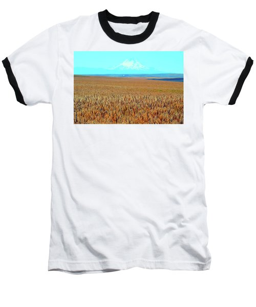 Amber Waves Of Grain Baseball T-Shirt