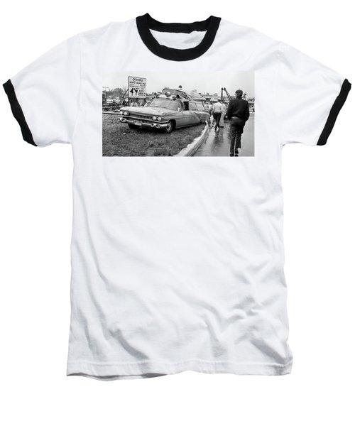 Ambulance Accident Baseball T-Shirt