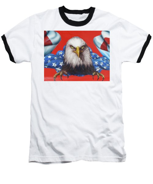 America Patriot  Baseball T-Shirt