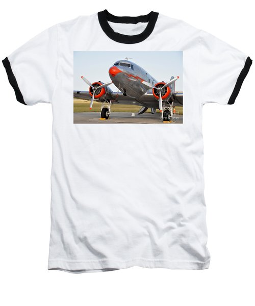 American Airlines Dc3 Baseball T-Shirt