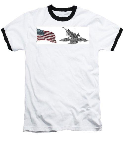 American Artillery Baseball T-Shirt