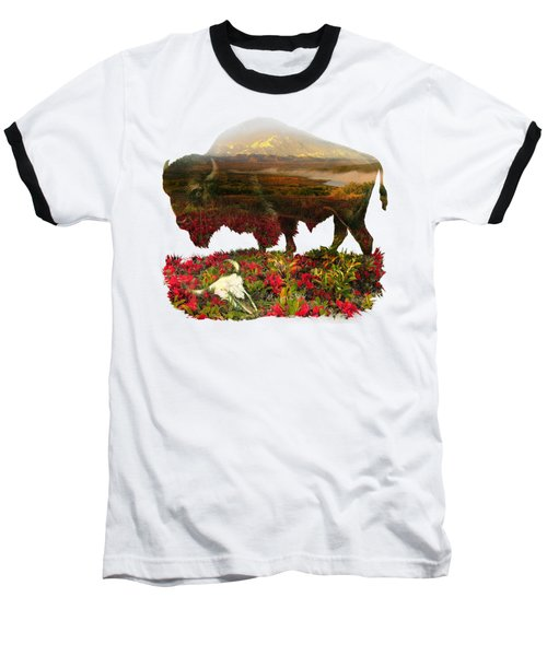 American Buffalo Baseball T-Shirt