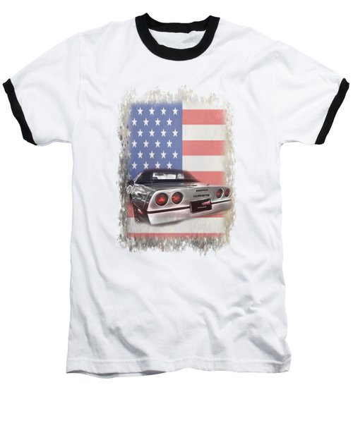 American Dream Machine Baseball T-Shirt