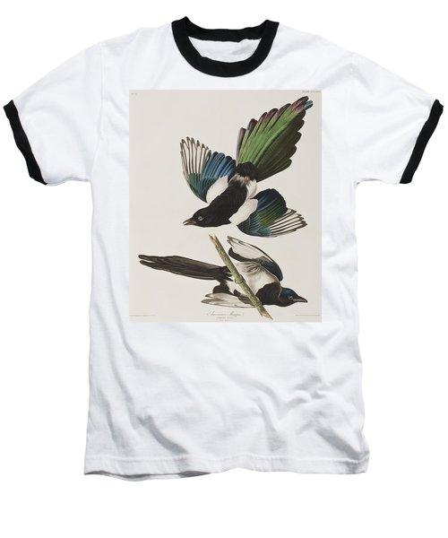 American Magpie Baseball T-Shirt