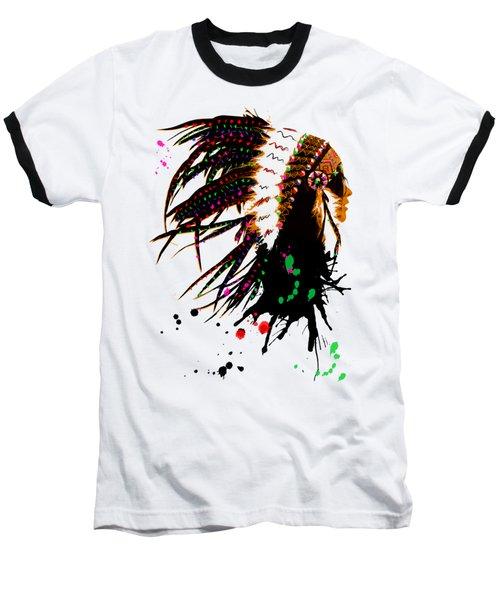 American Native Female Baseball T-Shirt
