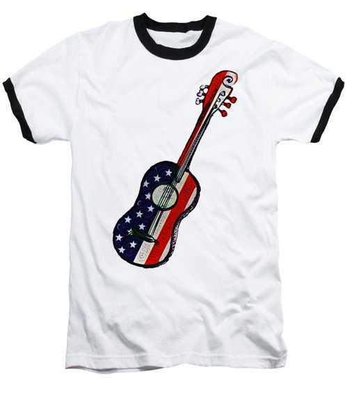American Rock And Roll Baseball T-Shirt