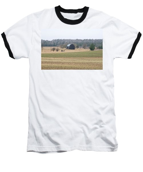 Baseball T-Shirt featuring the photograph Amish Country 0754 by Michael Peychich