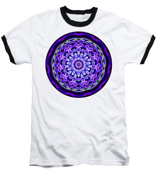 Ammersee Cropcircle Lightmandala Morph Baseball T-Shirt