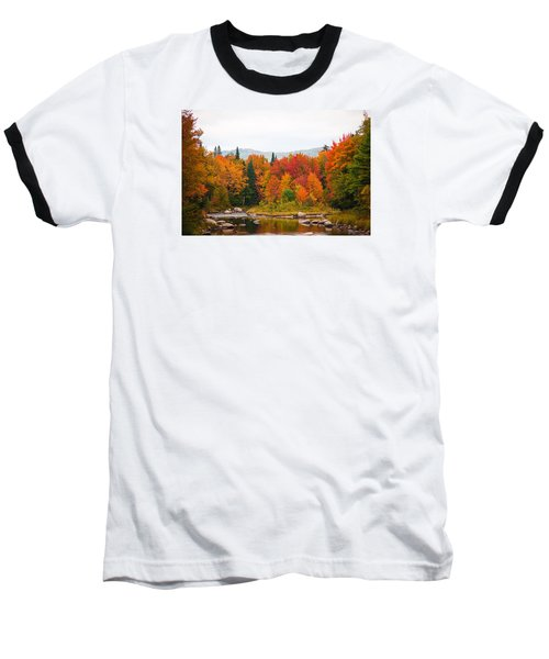 Baseball T-Shirt featuring the photograph Ammonoosuc River by Robert Clifford