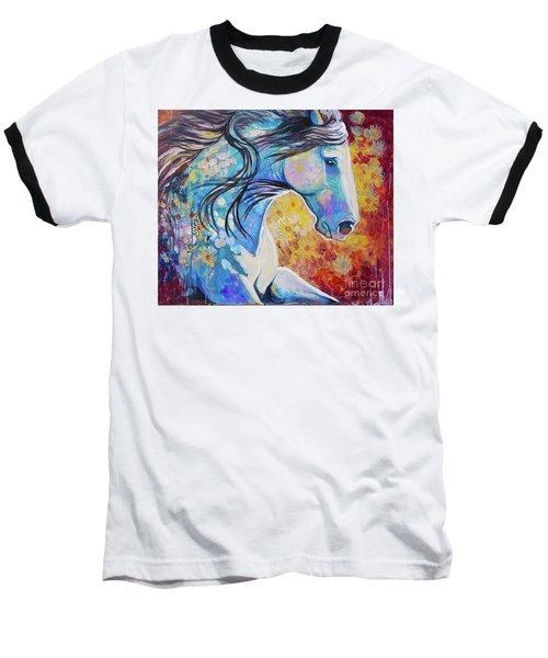 Among The Wildflowers Baseball T-Shirt