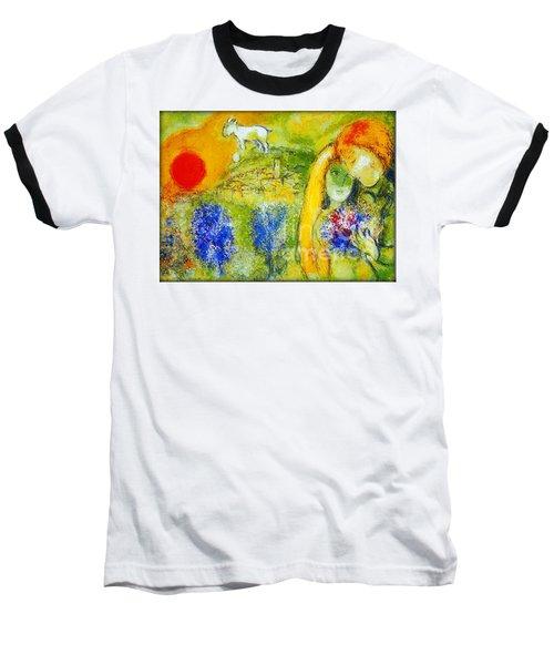 Amoureux De Vence Baseball T-Shirt