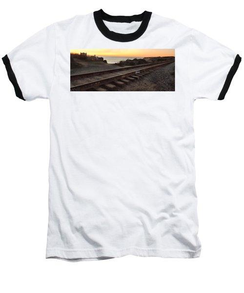 Amtrak On The Pacific Baseball T-Shirt