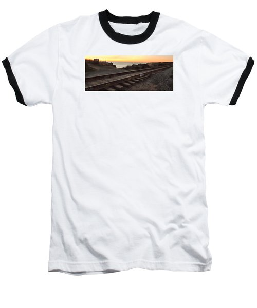 Amtrak On The Pacific Baseball T-Shirt