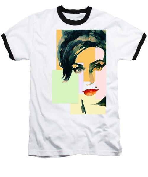 Amy... Love Baseball T-Shirt by Laur Iduc