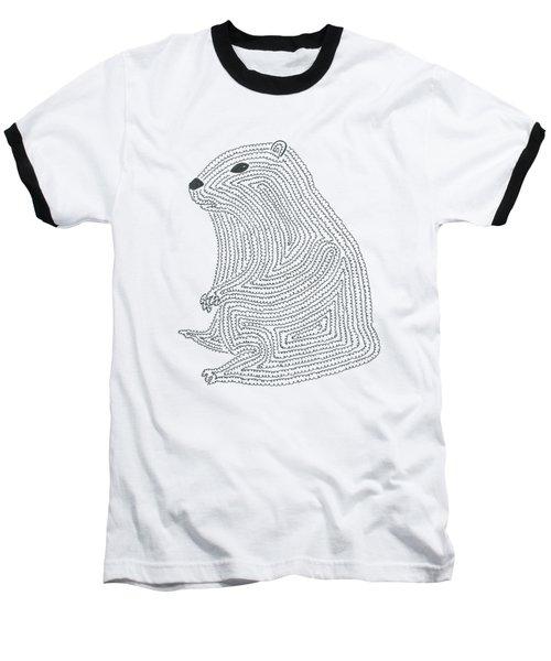 An Elusive Marmot Baseball T-Shirt