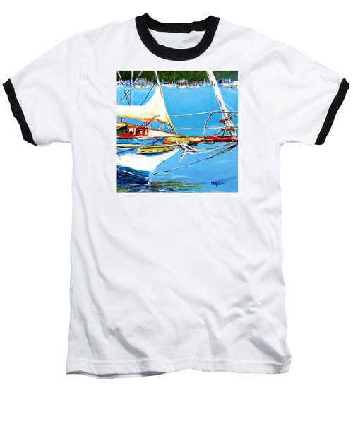Anchored Baseball T-Shirt by Marti Green