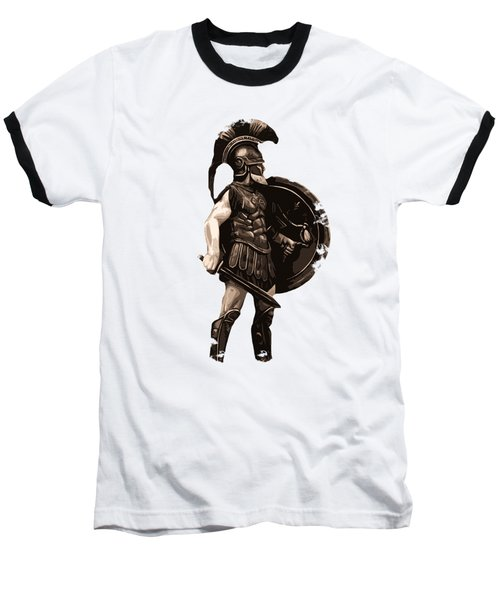 Ancient Greek Hoplite Baseball T-Shirt