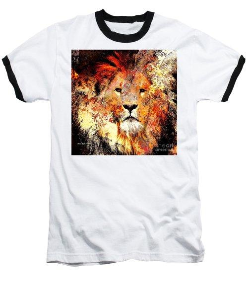Ancient Lion King Baseball T-Shirt