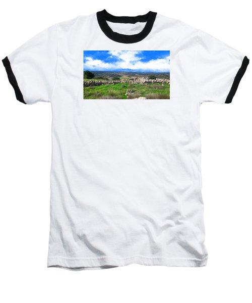 Ancient Ruins In Israel Baseball T-Shirt