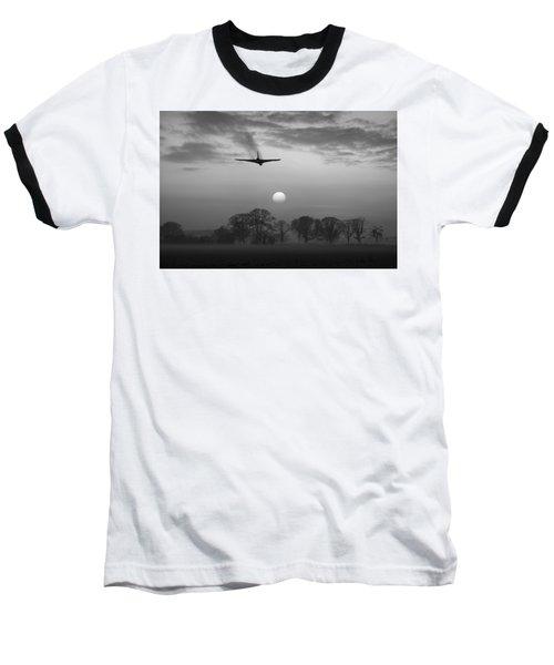 And Finally Black And White Version Baseball T-Shirt