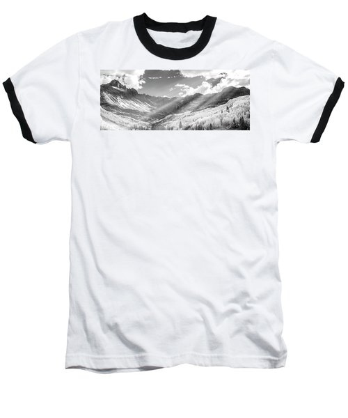 Baseball T-Shirt featuring the photograph And You Feel The Scene by Jon Glaser