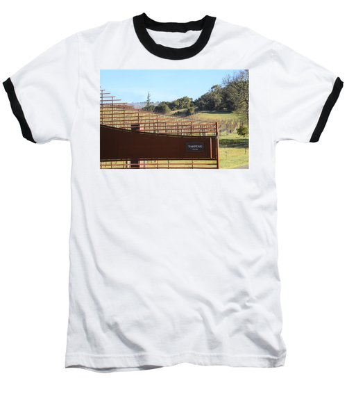 Anderson Valley Vineyard Baseball T-Shirt
