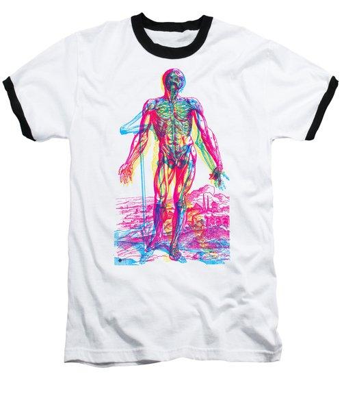 Andreae Vesalii Anatomy 2 Baseball T-Shirt