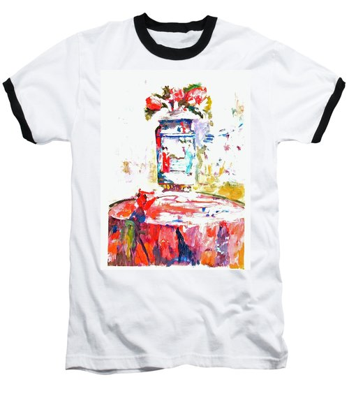 Anemones In A Chinese Vase After Edouard Vuillard Baseball T-Shirt