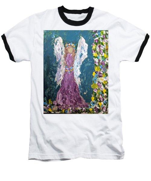 Angel Diva Baseball T-Shirt
