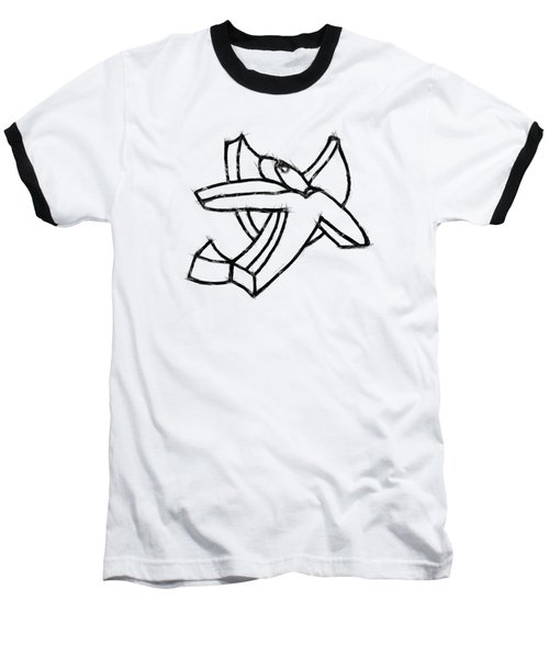Angelic Baseball T-Shirt