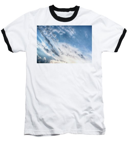 Baseball T-Shirt featuring the photograph Angry Clouds by Susan Stone