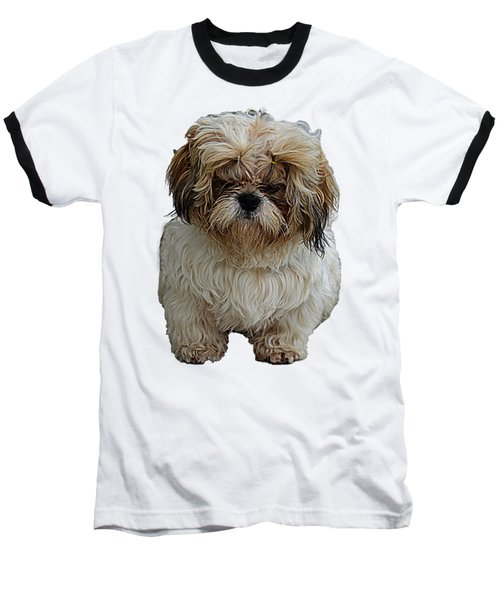 Angry Dog I Baseball T-Shirt
