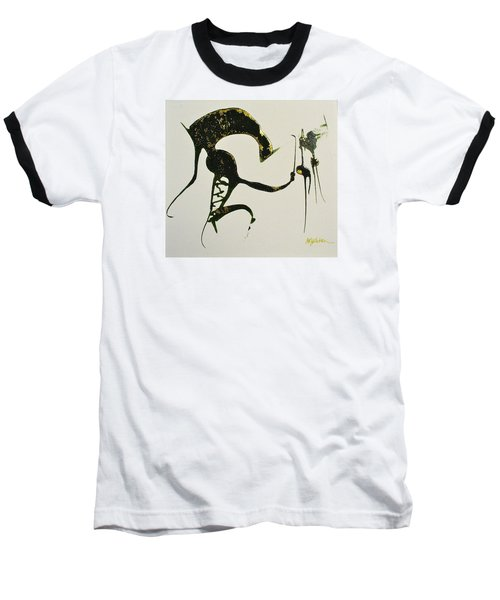 Baseball T-Shirt featuring the painting Animalia I by Mary Sullivan