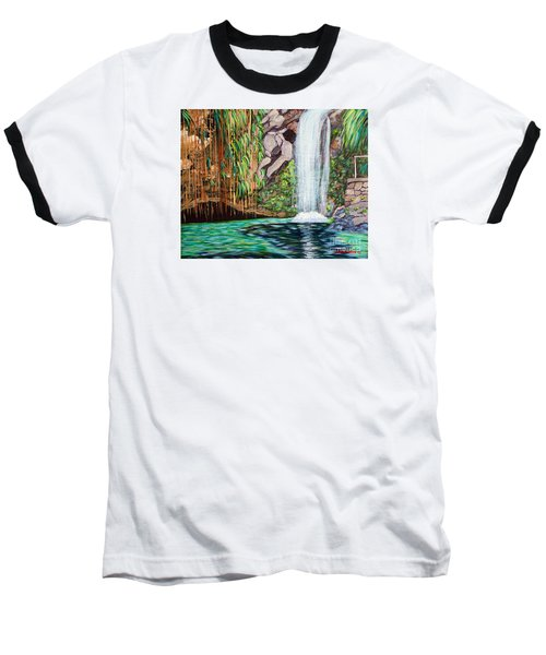 Annandale Waterfall Baseball T-Shirt