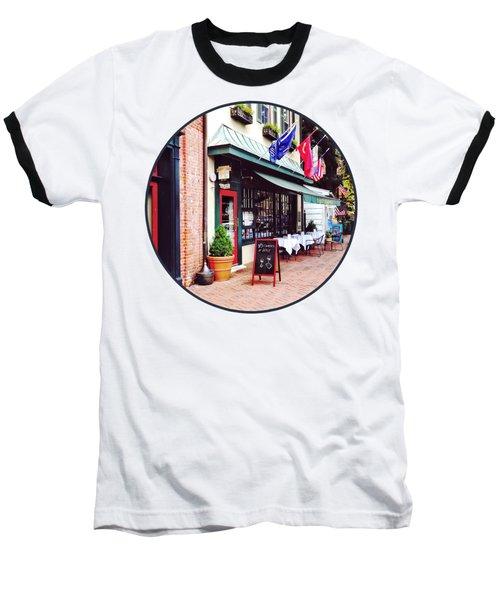 Annapolis Md - Restaurant On State Circle Baseball T-Shirt