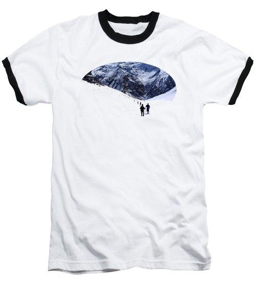 Annapurna Sanctuary Baseball T-Shirt