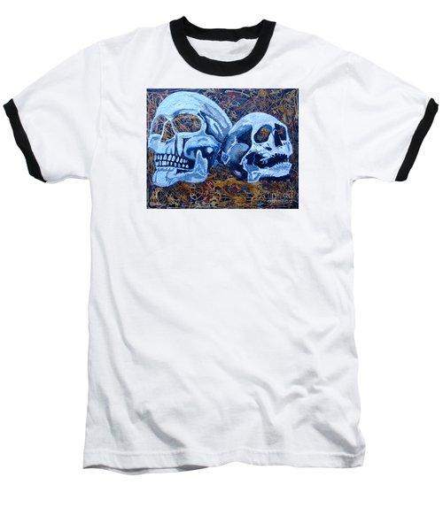 Baseball T-Shirt featuring the painting Anniversary by Stuart Engel
