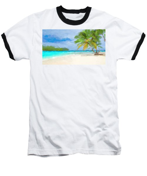 Another Day In Paradise  Baseball T-Shirt