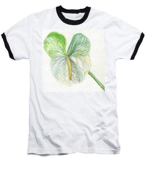 Anthurium Baseball T-Shirt
