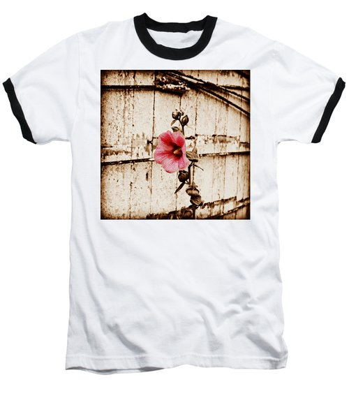 Antique Flower Baseball T-Shirt