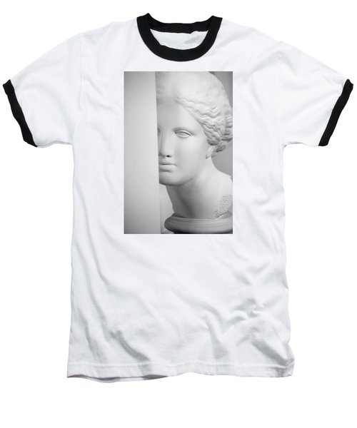 Baseball T-Shirt featuring the photograph Antique Sculpture by Andrey  Godyaykin