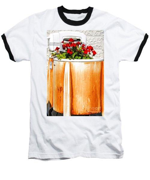 Antique Speed Queen Washing Machine Baseball T-Shirt
