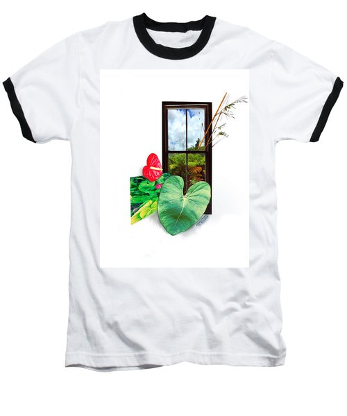 Anthurium 2 Baseball T-Shirt