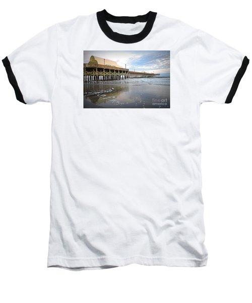 Apache Pier Baseball T-Shirt by Shelia Kempf