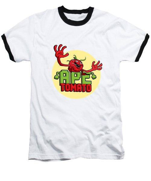 Ape Tomato Baseball T-Shirt by Nicolas Palmer