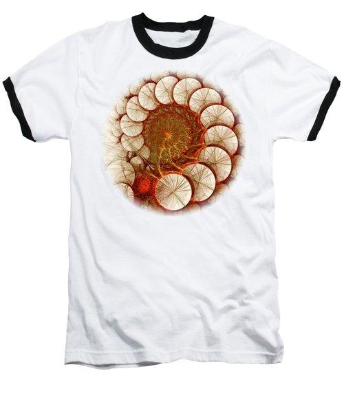 Apple Cinnamon Baseball T-Shirt by Anastasiya Malakhova