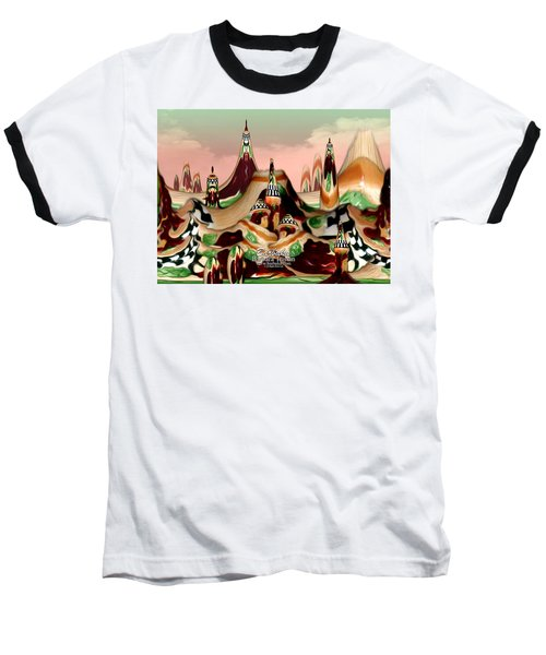 Baseball T-Shirt featuring the photograph Apple Land Countryside by Barbara Tristan