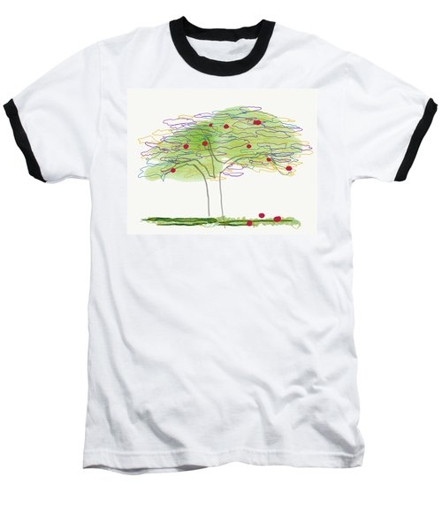 Apple Tree  Baseball T-Shirt